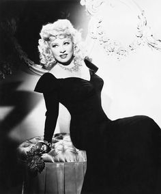 """Mae West- I've always loved her! I used to imitate her voice as a kid.""""How ya doin' handsome- where ya been all my life?"""""""