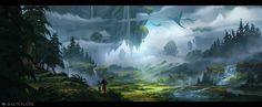 ArtStation - Dauntless 2, Daryl Mandryk