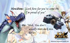 funny kid icarus uprising quotes