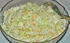 KFC Coleslaw is a five minute side dish you'll enjoy all summer long with your favorite chicken and more! KFC Coleslaw is one of my most personal childhood food memories. Kfc Coleslaw, Coleslaw Salad, Susan Recipe, Cole Slaw, Cooking Instructions, Copycat Recipes, Tasty Dishes, Side Dishes, Krabi