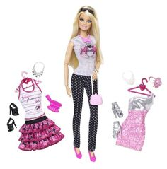 Barbie Doll and Fashion Barbie Doll Giftset >>> Click on the image for additional details.