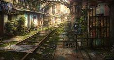 Railroad by JonasDeRo.deviantart.com on @deviantART