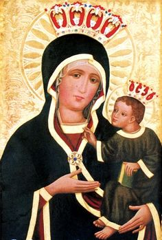 matka boska kęty Madonna, Westerns, Icons, Baseball Cards, Byzantine