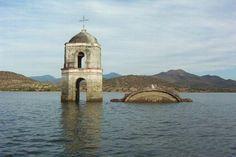 Conoce esta increíble ¡Iglesia hundida en México!