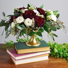 Wedding Flower Arrangements Organic Wine Centerpiece - Makes Wedding Flower Arrangements, Wedding Table Centerpieces, Flower Centerpieces, Floral Arrangements, Wedding Decorations, Centerpiece Ideas, Table Decorations, Floral Wedding, Fall Wedding
