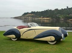1936 Delahaye Delahaye automobile manufacturing company was started by Emile Delahaye in 1894, in Tours, France. His first cars were belt-driven, with single- or twin-cylinder engines. In 1900, Delahaye left the company. The company lasted until 1954.