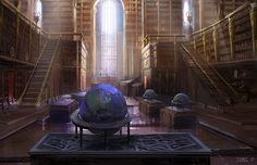 Library by jungpark.deviantart.com on @DeviantArt