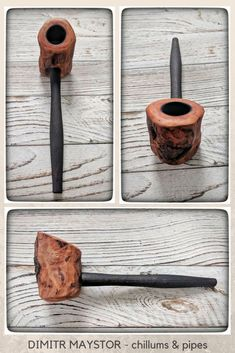 Chillums and Pipes from wood by Dimitr Maystor Wooden Smoking Pipes, Tobacco Pipe Smoking, Tobacco Pipes, Grey Wood Texture, Metal Texture, Pipe Shop, Wooden Pipe, Diy Pipe, Pipes And Bongs