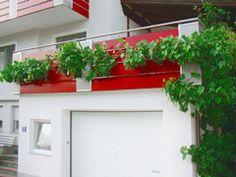Balkongeländer aus Edelstahl   Terasse mit Geländer aus Niro   Edelstahlgeländer