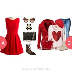 Which valentine's outfit