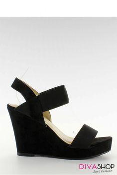 Sandale dama Buskin cu platforma - Inello - 146 Lei -    Sandale dama cu platforma - Inello Sandale dama confectionate din piele ecologica intoarsa barete decorative cu rol de sustinere platforma wedge  talpa dreapta aderenta din material sintetic exterior: piele ecologica  interior: piele ecologica  -   Comanda acum!  #divashopromania #divashop #pantofidama #sandale #pantofieleganti #fashion #fashionista #fashionable #fashionaddict #styleoftheday #styleblogger #stylish # Lei, Wedges, Interior, Shoes, Fashion, Moda, Zapatos, Indoor, Shoes Outlet