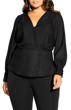 online shopping for City Chic Elegance Satin Peplum Blouse (Plus Size) from top store. See new offer for City Chic Elegance Satin Peplum Blouse (Plus Size) Plus Size Peplum, Plus Size Blouses, Plus Size Dresses, Empire Waist Tops, Scarf Dress, Peplum Blouse, Lace Sheath Dress, City Chic, Plus Size Women