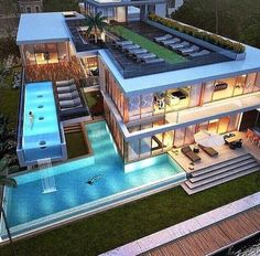 Pool. ideas, backyard, patio, diy, landscape, deck, party, garden, outdoor, house, swimming, water, beach.