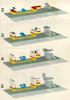 City - Service Station [Lego 6371]