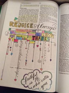 Rejoice Always **ZENTANGLE** [credit to S.Garzony, FB]