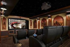 Under the Stars | 26 Home Theaters You Wish You Owned