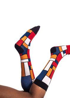 Classic De Stijl Bamboo Socks by Sexy Socks – RIGHTLAND Bamboo Socks, Sexy Socks, Africa, Stylish, Classic, Happy, Color, Design, Honey