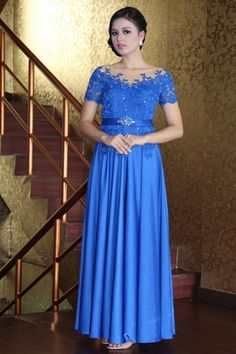 evening gown kebaya indonesia
