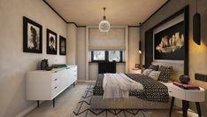Bedroom design by Mialmi Design Bedroom, Bedroom Inspo, Bedroom Decor, Color Combinations, Modern Contemporary, Entryway, Bedrooms, Interior Design, Grey
