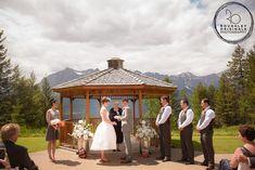 A Stylish Mountain Wedding at Silvertip Resort Summer Wedding, Gazebo, Outdoor Structures, Weddings, Mountains, Stylish, Kiosk, Pavilion, Wedding