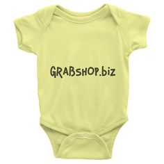 Infant short sleeve one-piece - GRABSHOP.biz