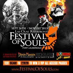 Festival of Souls Tickets | Las Olas Riverfront - Fort Lauderdale, FL | Festival of Souls