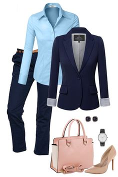 Want to look cute at work this Spring? Check out outfitsforlife.com for info on where to buy each of these items for a steal and for even more outfit inspo! #outfitsforlife #businesscasual #workoutfits #outfitsforwork #springoutfits