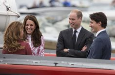 Kate Middleton Can't Stop Laughing at Prince William's Jokes During Their Tour of Canada