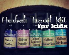 Making a Children's Herbal Travel Kit