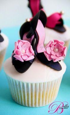 Stiletto cupcake