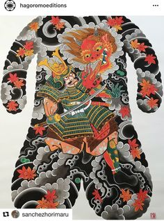 Face Painting Tutorials, Face Painting Designs, Back Piece Tattoo, Japanese Tattoo Symbols, Japanese Watercolor, Traditional Japanese Tattoos, Belly Painting, Yakuza Tattoo, Oriental