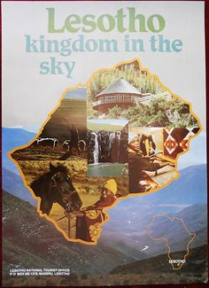 Lesotho Kingdom in the Sky - BelAfrique your personal travel planner… Tour Around The World, Travel Companies, Travel Planner, Travel Abroad, Africa Travel, Black People, Travel Posters, Continents, Adventure Travel