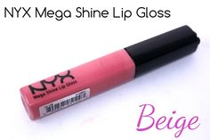 NYX Mega Shine Lip Gloss Beige - Review, Swatches & Photos | Beautetude