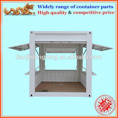 Source Customized 10ft pop up shipping container kiosk with roller shutter door on m.alibaba.com