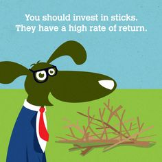 Dogs are surprisingly adept at personal finance.