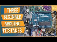 In my ten years of teaching Arduino, these are the mistakes I see beginners make most often. Open description for more info ⬇️ Try my free Arduino class: htt. Arduino Beginner, Variable Speed Motor, Pic Microcontroller, Simple Arduino Projects, Technology World, Mistakes, Rasberry Pie, Raspberry, Teaching