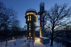 Biorama in Joachimsthal, Germany, designed by Berlin based architect Frank Meilchan.