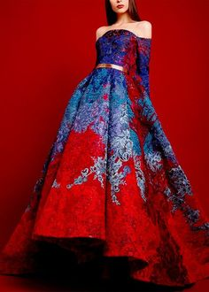 hello hi - queenbakkoush: Hussein Bazaza Fall/Winter Beautiful Gowns, Beautiful Outfits, Pretty Outfits, Pretty Dresses, Fantasy Gowns, Dream Dress, Ball Gowns, Evening Dresses, Ideias Fashion