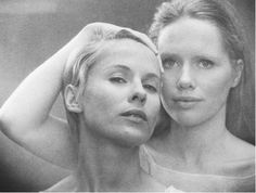 Persona, 1966. Bibbi Anderson and Liv Ullman