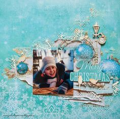I'm here to share my finalist creations for the Kaisercraft Design Team! I went to the second round of selection . Merry Chistmas, Christmas Wishes, Christmas And New Year, Christmas Scrapbook, Christmas Layout, Hello Ladies, Scrapbooking Layouts, Winter, Handmade