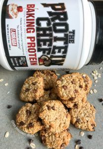 PEANUT BUTTER OATMEAL PROTEIN COOKIES – No Excuses Nutrition