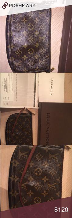Louis Vuitton monogram accessories pouch Louis Vuitton monogram accessories pouch Louis Vuitton Bags Cosmetic Bags & Cases