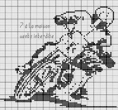 Gallery.ru / Фото #46 - Спорт (схемы) - Olgakam Cross Stitch Charts, Cross Stitch Patterns, Cross Stitch Fruit, Pixel Crochet, C2c, Christian Love, Cross Stitch Collection, Craft Patterns, Cross Stitching