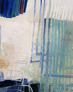 Josette Urso, Cloud Fall, 2013  Oil on panel, 20 x 16 in