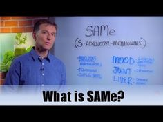 What is SAMe? - YouTube