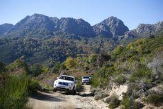 Randonnée haute Corse en 4X4 dans la Costa Verdé. Louer une voiture ou faire du 4X4 en haute Corse avec le camping Merendella