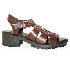MIA Womens Noti Fisherman Sandal Brown 8 M US -- Learn more by visiting the image link.(This is an Amazon affiliate link)