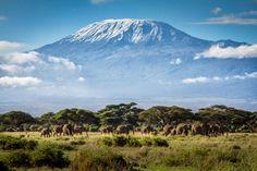 16 lugares para conocer antes de morir - Monte Kilimanjaro, Tanzania