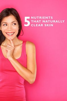 Looking for a Fast & Safe way to clear your skin? Try these 5 natural nutrients that clear skin & prevent breakouts! Click here to see what they are...