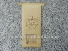 food packaging paper bags with window $0.005~$0.01